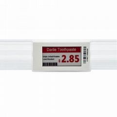 """超市價格標籤2.1""""電子紙屏幕ESL系統電子貨架標籤"""