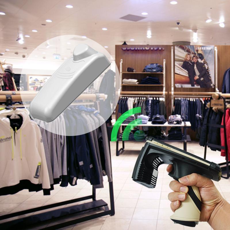 EAS声磁 防盗系统 商品 电子标签 结合 UHF超高频 服装 RFID标签 6