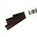 超市声磁防盗条码 白色带条码 DR防盗标签 防盗报警 2
