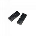 PCB材质黑色短小款固定资产管理RFID超高频抗金属电子标签MP2309