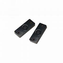 PCB材質黑色短小款固定資產管理RFID超高頻抗金屬電子標籤MP2309