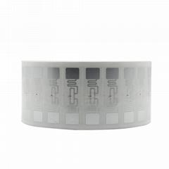 服装托盘商品跟踪管理UHF超高频可直接粘贴RFID电子标签 LL9662A