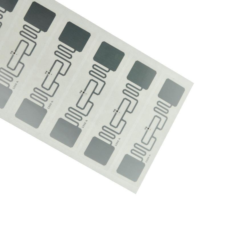 服装托盘商品跟踪管理UHF超高频可直接粘贴RFID电子标签 LL9662A 2