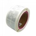 RFID UHF sticker impinj dry/wet/ label