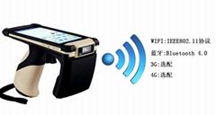 工業級超高頻RFID手持機讀取距離10米以上的高端移動式PDA讀寫器