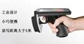 UHF手持式PDA數據採集終端工業級小巧便攜式RFID讀寫器讀取達5米 3