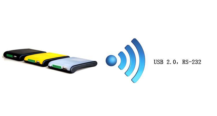 RFID UHF Desktop long range reader with USB and RS-232 smart card reader 1