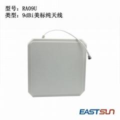 9dBi美標純天線 停車場車輛管理超高頻UHF RFID讀寫器天線 RA09U
