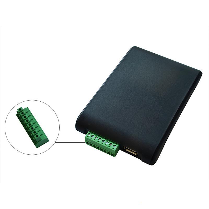 小巧形超高频桌面式发卡读写器用于物流仓库运输图书馆游泳场食堂  7