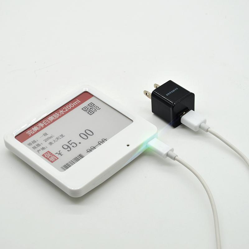 4.2英寸电子货架标签 价格标签 零售蛋糕手机药房通用 电子价签 5