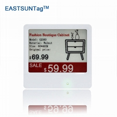 big screen e ink display e ink display electronic price label for supermaket