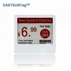 """快速刷新價格速度4.2""""E-ink電子貨架標籤"""