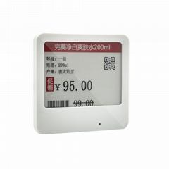 可顯示價格名稱條碼 電子價格標籤,超市貨架標籤,電子紙標籤
