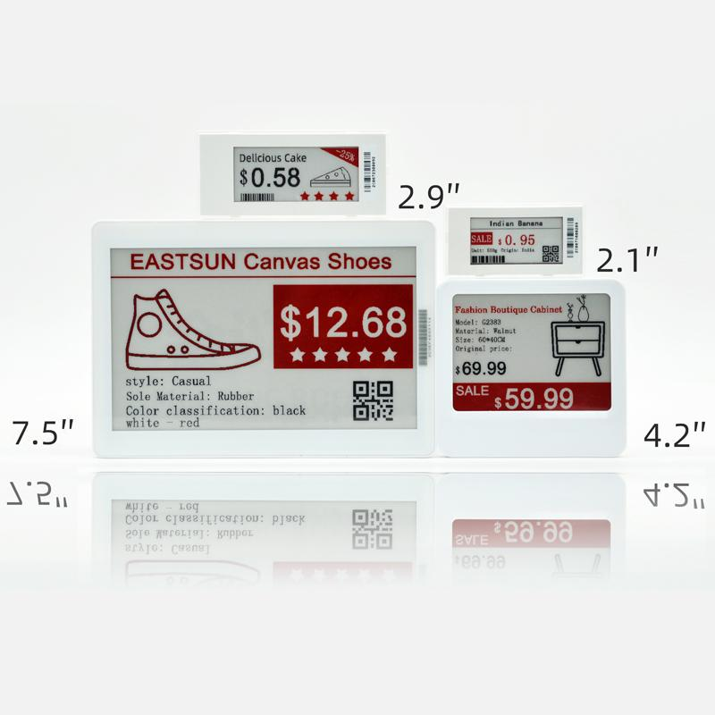 Electronic shelf label  e-paper price tag ESL demo kit for customer testing