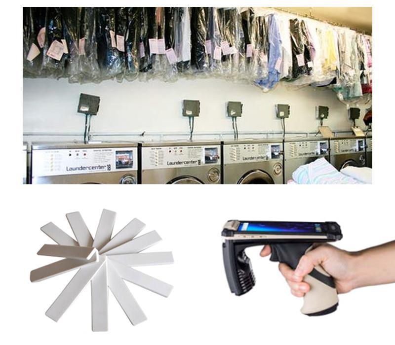 RFID UHF Silicone heat resisting environmental laundry tag 2