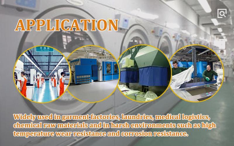 RFID UHF Silicone heat resisting environmental laundry tag 4