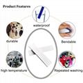 RFID UHF Silicone heat resisting environmental laundry tag