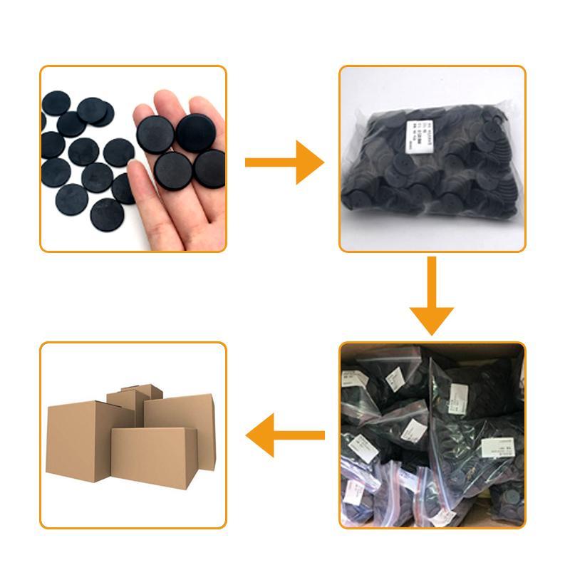 超高频洗衣标签PSS材质耐高温钮扣RFID电子标签 3
