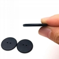 rfid chip mini high temperature sensor PPS Button for laundry tag