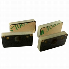 PCB RFID UHF anti-metal tag for small metal container management P1809