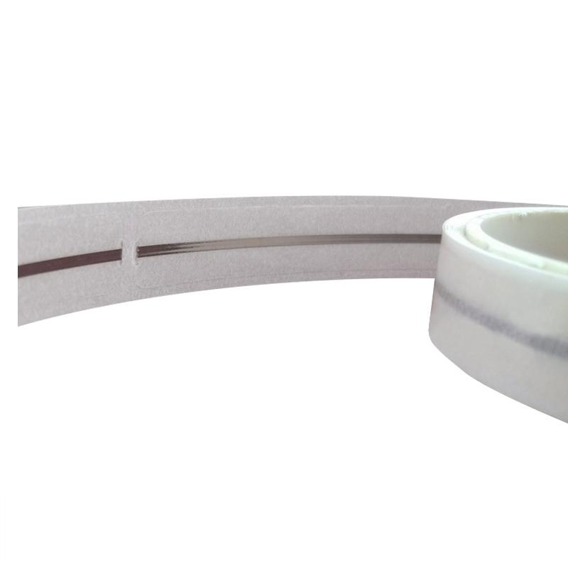 EM magnetic strip barcode label security system used in libraries management  4
