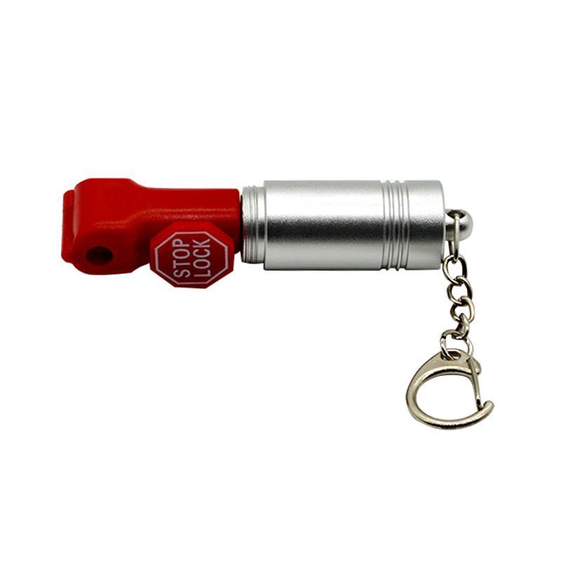 防盜挂鉤小紅鎖 超市貨架 手機數碼挂鉤防盜鎖頭 塑料防盜扣 3