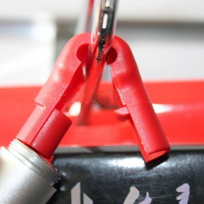 防盜挂鉤小紅鎖 超市貨架 手機數碼挂鉤防盜鎖頭 塑料防盜扣 4