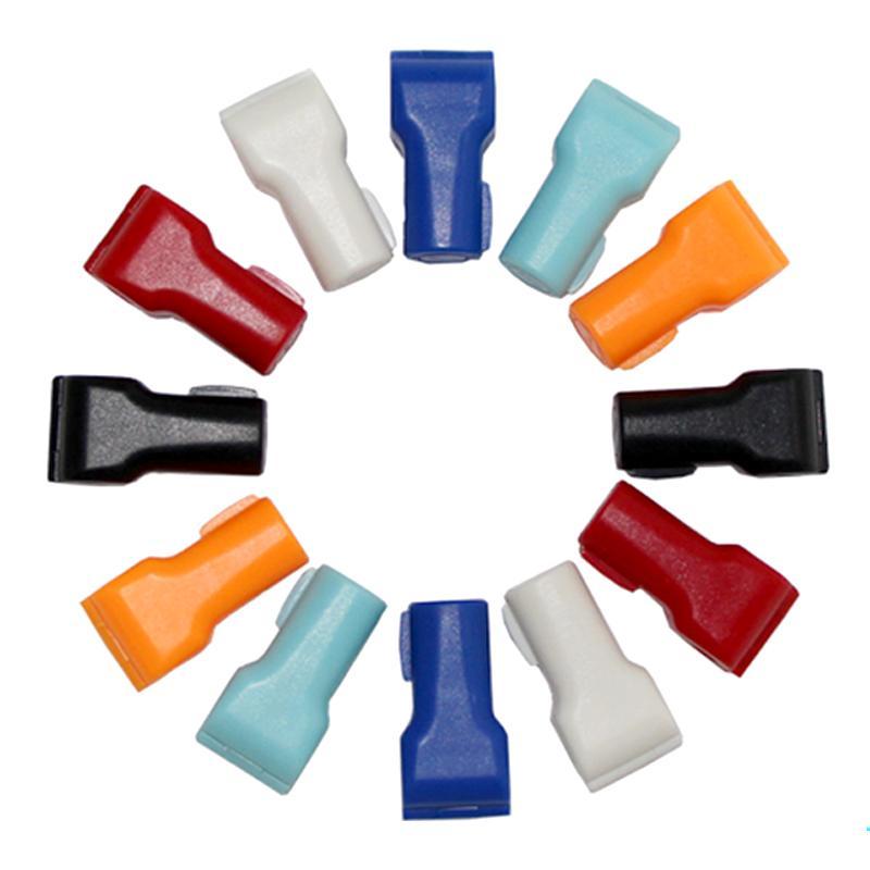 防盜挂鉤小紅鎖 超市貨架 手機數碼挂鉤防盜鎖頭 塑料防盜扣 5