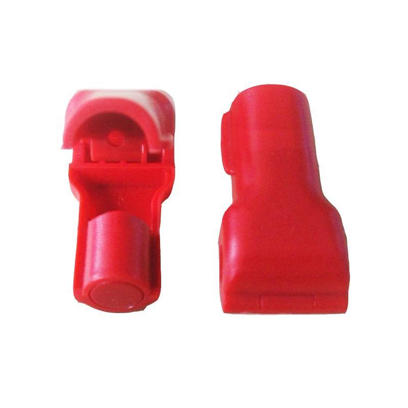 防盜挂鉤小紅鎖 超市貨架 手機數碼挂鉤防盜鎖頭 塑料防盜扣 7