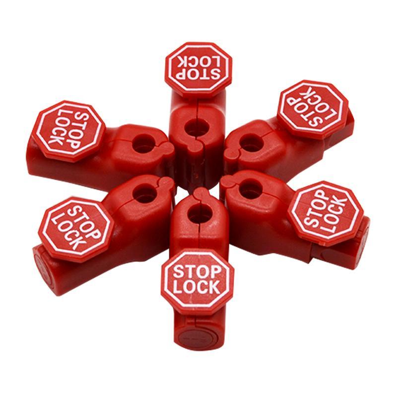防盜挂鉤小紅鎖 超市貨架 手機數碼挂鉤防盜鎖頭 塑料防盜扣 8