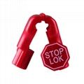 防盗挂钩小红锁 超市货架 手机数码挂钩防盗锁头 塑料防盗扣 10