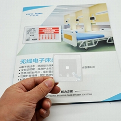 RFID HF electronic sticker label for book management