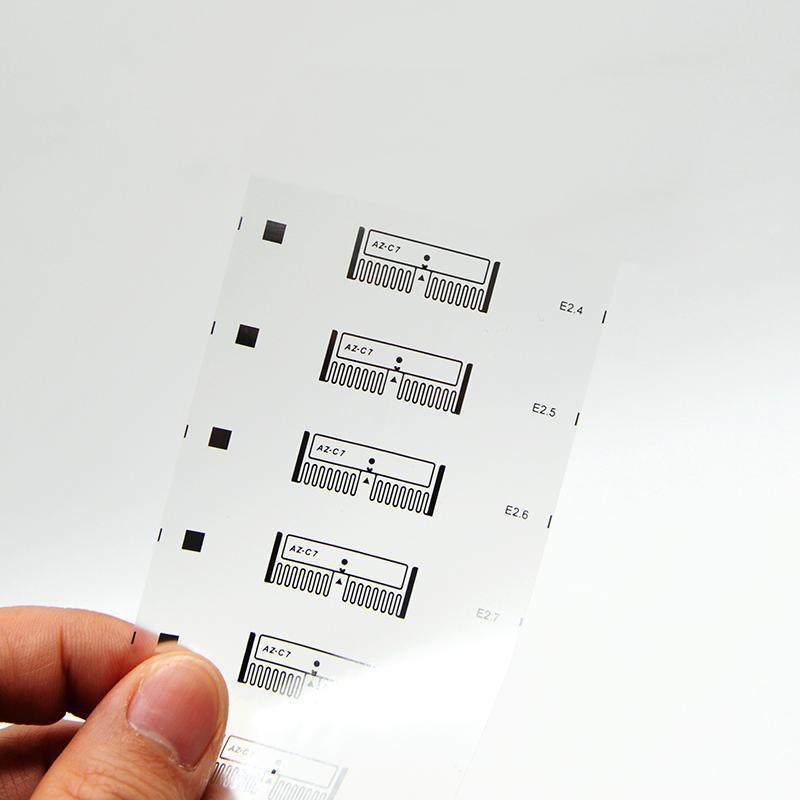 UHF dry inlay label RFID electronic tag medicine label 1