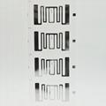 UHF electronic label dry inlay label RFID clothing label 2