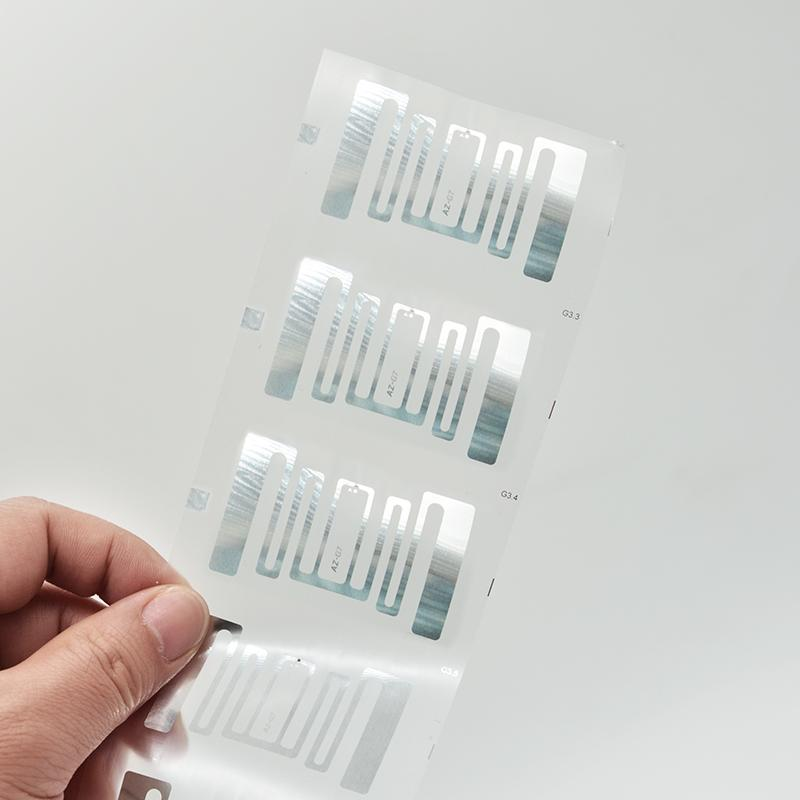UHF electronic label dry inlay label RFID clothing label 3