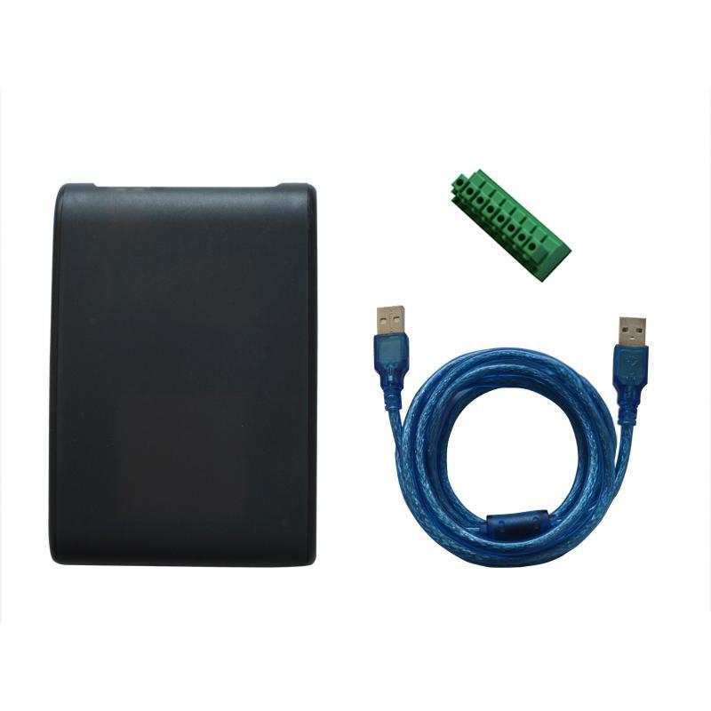 小巧形超高頻桌面式 發卡讀寫器 用於物流倉庫運輸圖書館游泳場食堂 4
