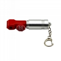Colorful ABS security stop lock stem hook lock for Merchandise anti-theft
