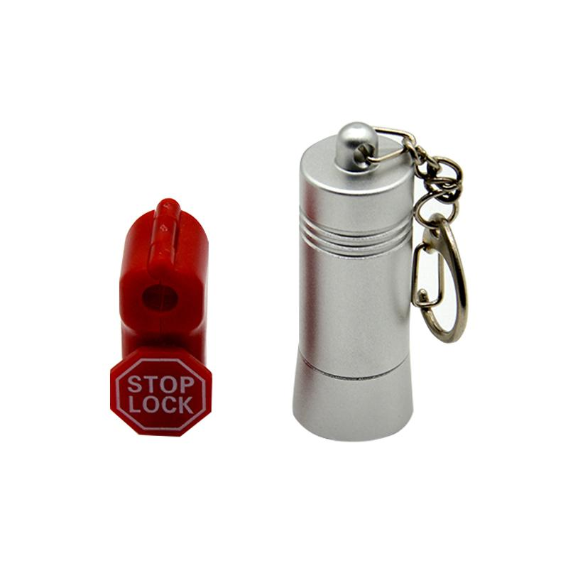 Colorful ABS security stop lock stem hook lock for Merchandise anti-theft 4