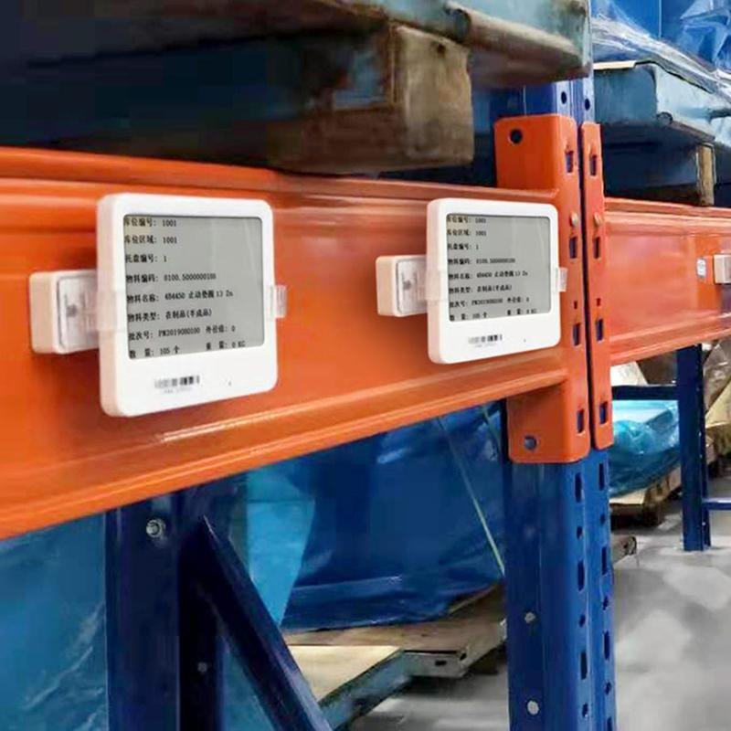庫位電子標籤 倉儲管理 現代物流 貨架管理系統 倉儲標籤工位標籤 3