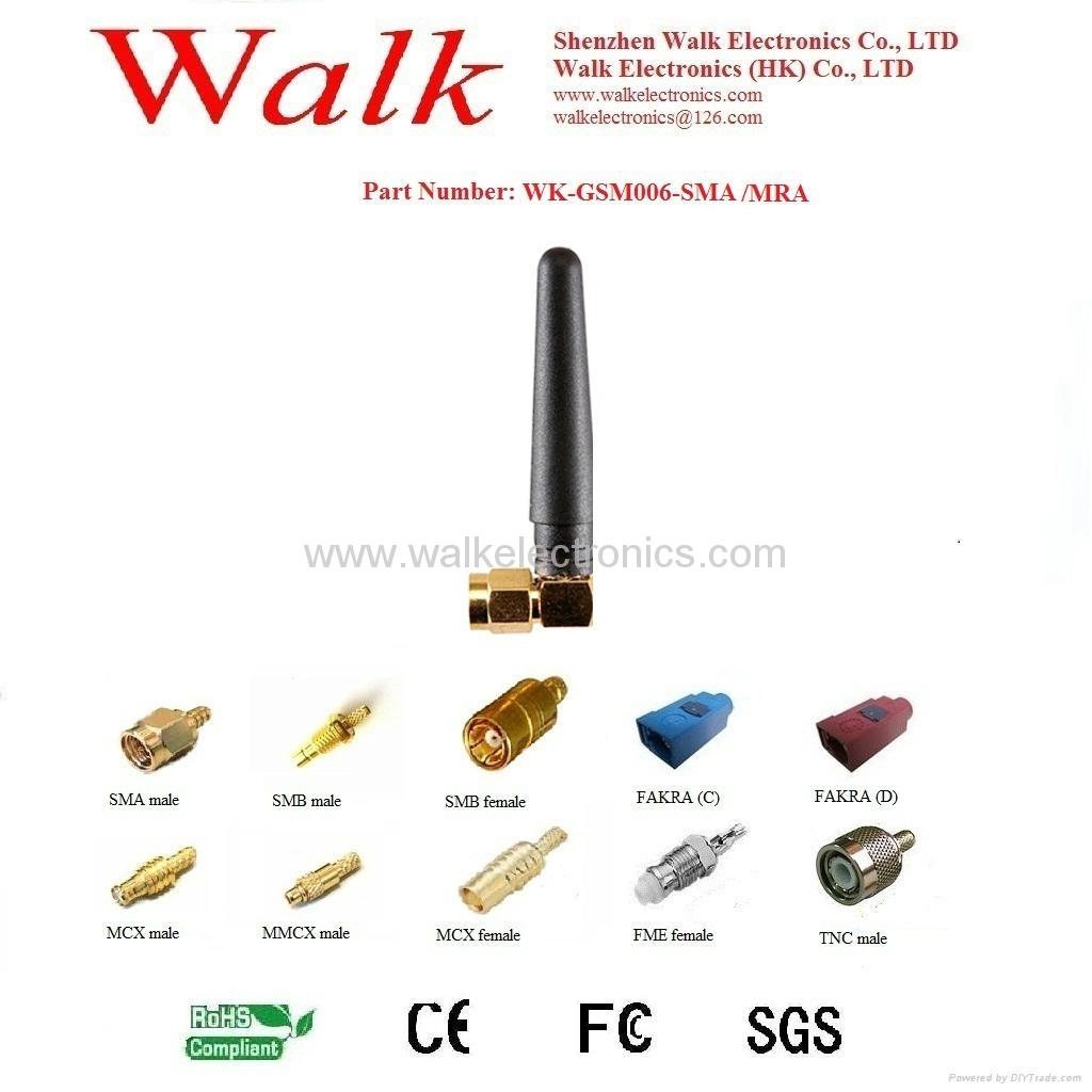 GSM/GPRS/AMPS Quad Band Antenna(WK-GSM006-SMA/MRA) 1
