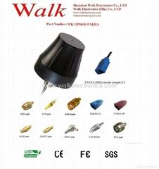 external screw mount high gain GPS Active Antenna(WK-GPS006-FAKRA)