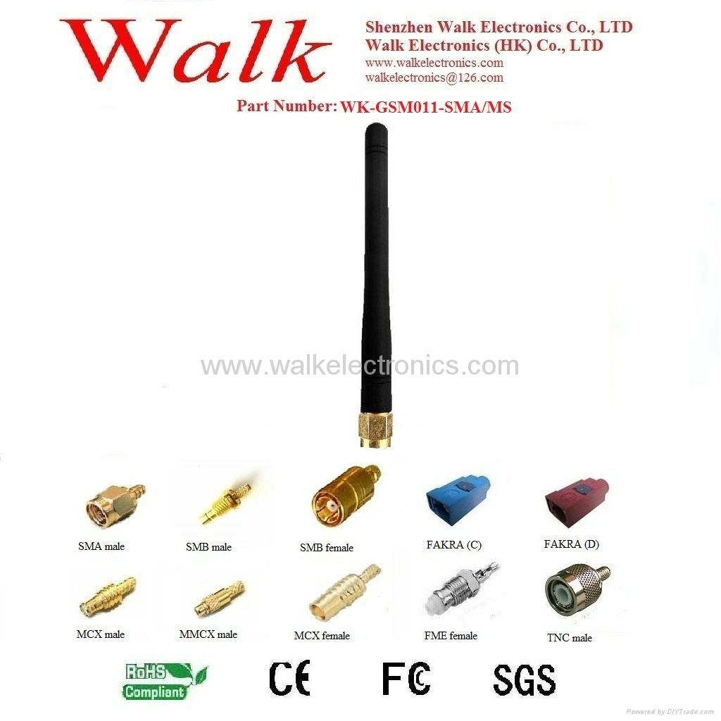 GSM/GPRS/AMPS Quad Band Antenna(WK-GSM011-SMA/MS) 1
