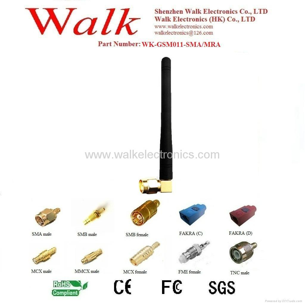 GSM/GPRS/AMPS Quad Band Antenna(WK-GSM011-SMA/MRA) 1