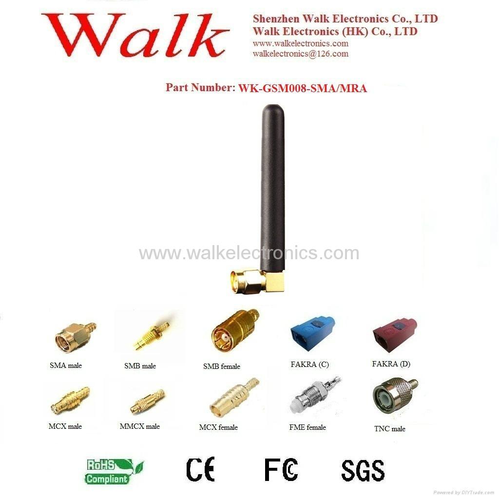 GSM/GPRS/AMPS Quad Band Antenna(WK-GSM008-SMA/MRA) 1