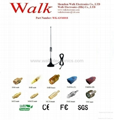 GSM/GPRS/AMPS Quad Band Antenna(WK-GSM018)