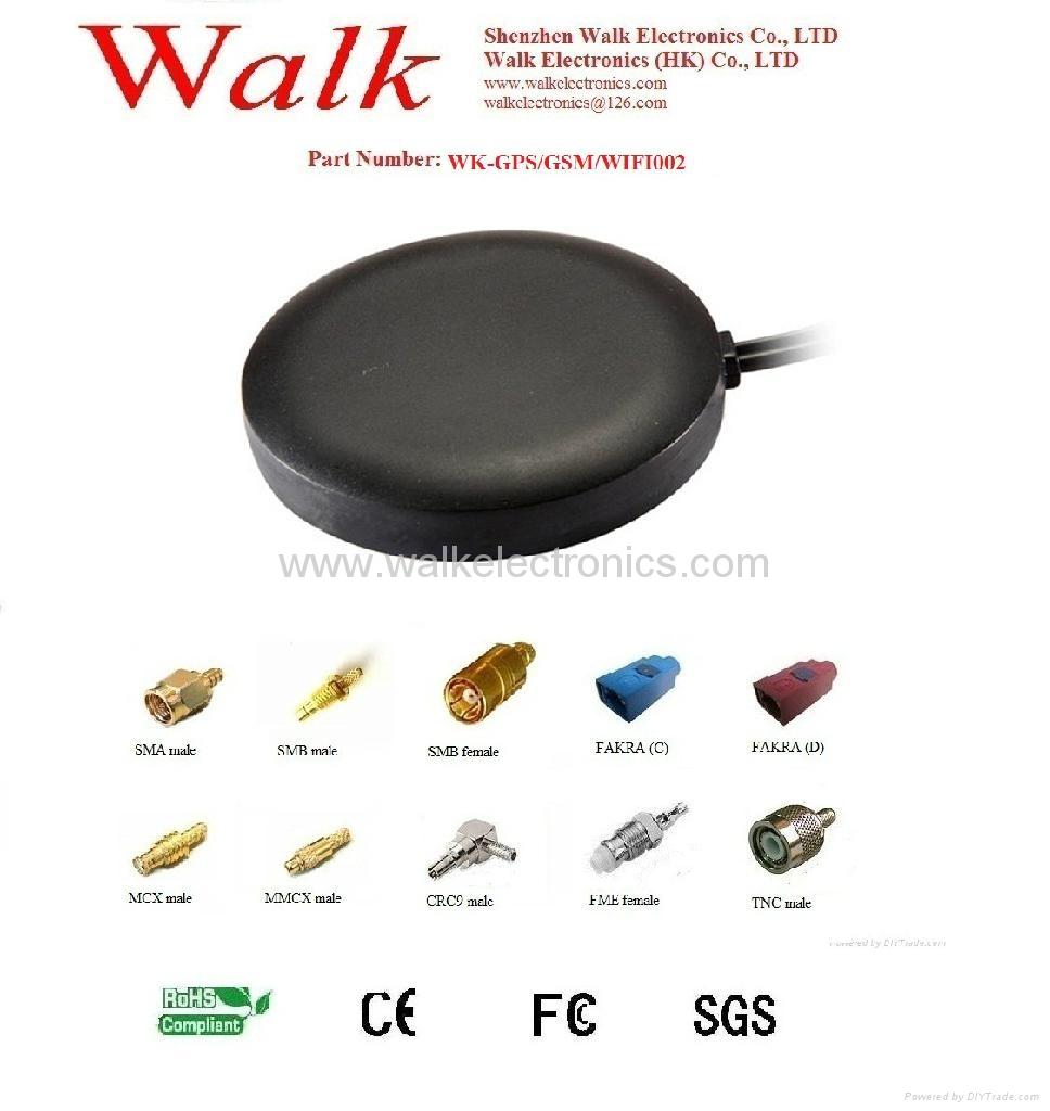 GPS/GSM/WIFI Combo Antenna(WK-GPS/GSM/WIFI002) 1