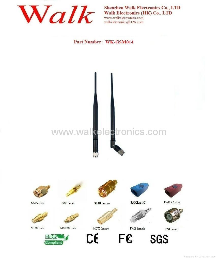 GSM/GPRS/AMPS/CDMA Quad Band Antenna(GSM-BH014) 1