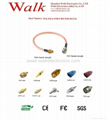 RF cable/Pigtails/Jumper cable/Interface Cable(WK-SMA/FSB-UHF/FSB-RG316)