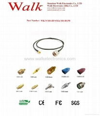 RF cable/Pigtails/Jumper cable/Interface Cable(WK-RP-SMA/MS-N/MS-RG58)