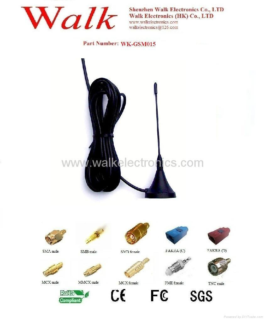 GSM/GPRS/AMPS/CDMA Quad Band Antenna(WK-GSM015) 1